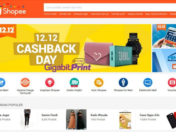 Review Online Shop : Shopee